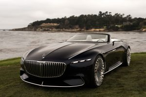 2017 Monterey - Vision Mercedes-Maybach 6 Cabriolet Concept